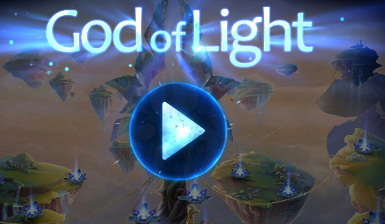 God of Light - Title screen
