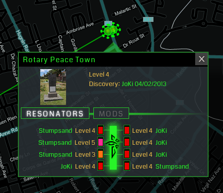 Building high level Ingress portals is pure team-work!