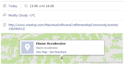 Harsh weather conditions have been predicted by Facebook