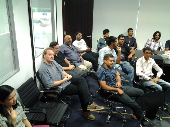 MSCC meetup of 25.01.2014 - craftsmen #1
