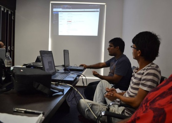 Rikesh demonstrates the possibilities of WordPress configuration in the dashboard