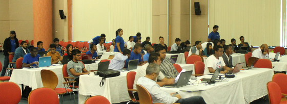 60 attendees at the GWAB 2014. Despite some technical difficulties we had a great time running the event
