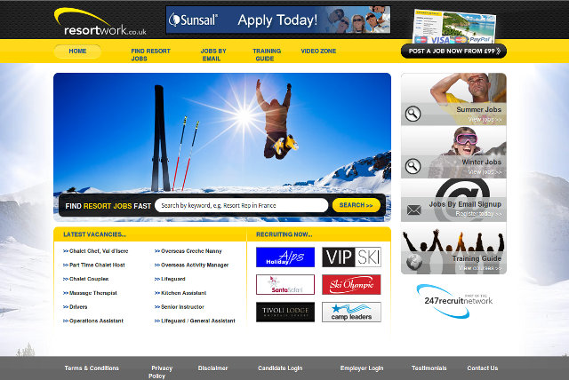 Original web site - October 2012