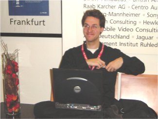 JoKi at the German Visual FoxPro Developer Conference 2003 - Image 1