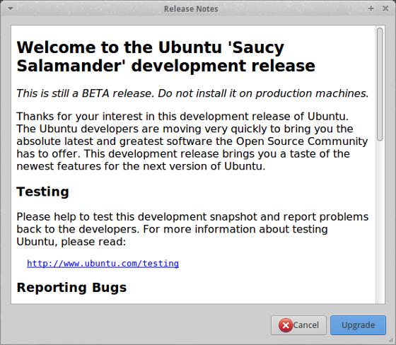 Details about Ubuntu 13.10 (Saucy Salamander)