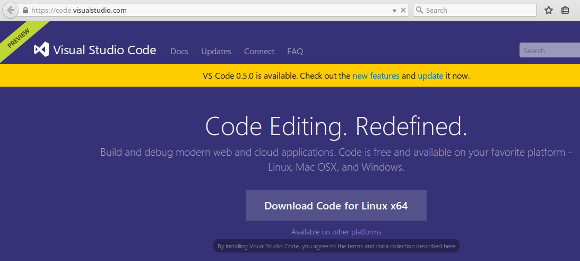 Installing Visual Studio Code on Linux (Ubuntu)