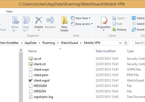 Connecting Linux to WatchGuard Firebox SSL (OpenVPN client